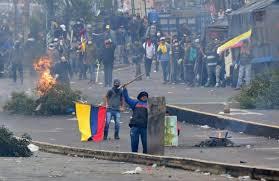 Ecuador: Msgr. Espinoza (Archbishop Quito), important that the natives condemned the violence