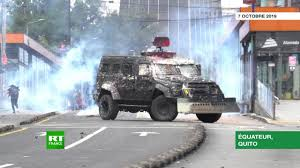 Ecuador: Quito placed under curfew and military control