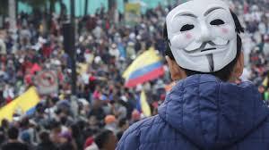 Ecuador Siege - Prohibition on Quito WORLD iefimerida.gr
