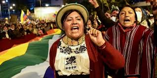 Ecuador indigenous people reject dialogue with government