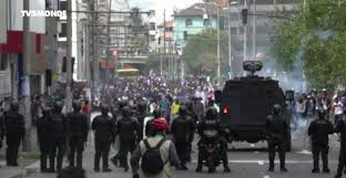 Ecuador: after the chaos in Quito, the president orders a curfew around the places of power