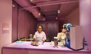 PHOTOS: Singapore bubble tea exhibition featuring a ball shape, giant cups and private jerk boba with 'champagne'