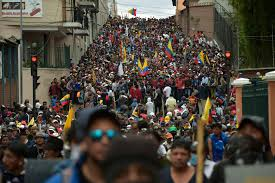 Protests in Ecuador complete 7 days with 5 dead and 554 injured